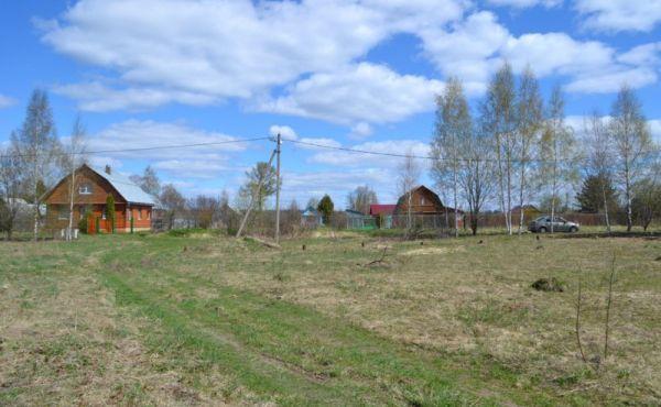Участок 15сот под застройку в деревне Большое Никольское